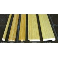 China Vertical Natural Bamboo Stair Tread And Riser on sale