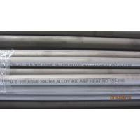 Best SB163 / SB165 / SB829 Monel Alloy 400 Seamless Nickel Alloy UNS N04400 wholesale