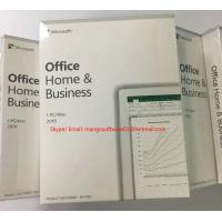 Buy cheap MAC / Windows Office 2019 Microsoft Home And Business Activation Online Product from wholesalers