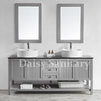 China Daisy 72 inch Bathroom Vanity large bathroom cabinet with Large storage space on sale