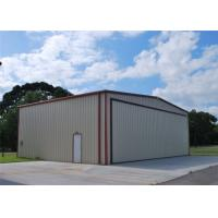 Best Light Weight Steel Aircraft Hangar Buildings Attractive Appearance Eco Friendly wholesale