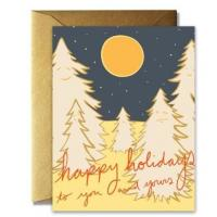 China Craft Paper Greeting Cards , Recycled Personalized Holiday Greeting Cards on sale