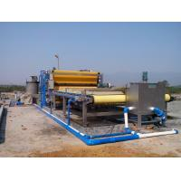 China Continuous Sludge Dewatering Belt Fliter Press For Mining Industry on sale