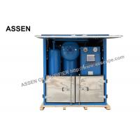 Best Double Stage Transformer Oil Purification System with Decompression Separation,Precise Filtration wholesale
