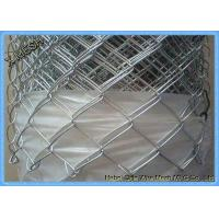China Galvanised Chain Link Fence Privacy Screen 900mm X 50mm X 2.5mm on sale