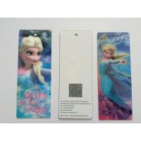 Best 3D Lenticular Personalised Bookmarks For Schools , Bookmark Printing Services wholesale