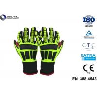 Best Rescue PPE Safety Gloves , Metal Safety Gloves TPR Material Wear Resistant wholesale