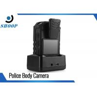 Best LTE 3G / 4G Wireless Police Body Cameras For Law Enforcement GPS 32GB 4000mAh wholesale