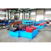 Buy cheap US National Standards Two Waves Freeway Guardrails Fences Roll Forming Machine from wholesalers