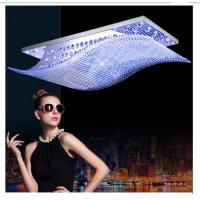 Best Rectangle wonderful crystal ceiling lamp excellent ceiling light wholesale