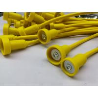 Best Yellow Cable Wire Harness Magnetic Safe Cable Pvc Jacket With Overmolded Ends wholesale
