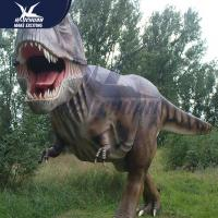 Best Custom Color Animatronic Dinosaur Replicas Life Size Mouth Open And Close wholesale