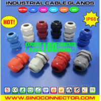 Best Liquid-tight IP68 Nylon (Polyamide / Plastic ) Cable Glands with Short & Long Threads wholesale