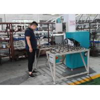 Best Low Noise Glass Double Edging Machine , Variable Miter Small Glass Grinder wholesale