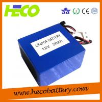 Cheap 12V 20AH Lithium Battery Module Long Cycle Life Environmental Friendly for sale