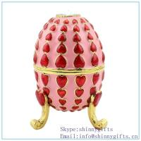 Cheap Violet Faberge Inspired Egg, discount Oeuf Bleu Faberge Inspired Egg on sale SCJ1013 for sale