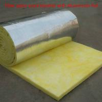 China Glass wool heat insulation,glass wool roll,glass wool blanket in rolls on sale
