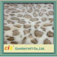 China 100% Polyester Soft Lamb Wool Fake Fur / Faux Fur Fabric For Auto Interior Upholstery on sale