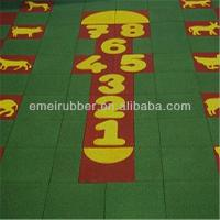 China exceptionally outdoor play sports rubber floor tiles paver for sale on sale