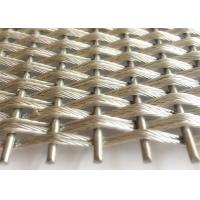 Best Lobby Interior Woven Architectural Wire Mesh Made In Stainless Steel Wire Rope wholesale