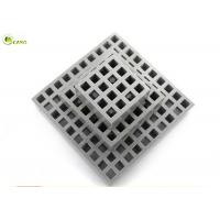 Buy cheap Fiberglass Profiles Deck Water Gutter Cover Tree Pool Protection Grid Grating from wholesalers