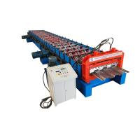 Buy cheap Long Life Precise Steel Floor Deck Roll Forming Machine with CE product