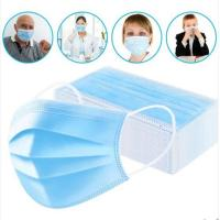 China 3 Ply Doctor Nurse Face Mask Non Woven Fabric Disposable Surgical Mask on sale