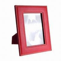 Best Fashionable Leather Photo Frame, Customized Colors and Dimensions are Accepted wholesale