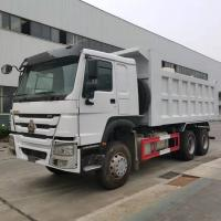 China 18 Cubic Meters Sinotruk Dumper Truck 371HP 6X4 10 Tyre 21-30 Tons Manual Transmission Type on sale