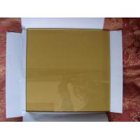 China 7mm 10mm Bronze Flat Float Glass Sinoy , Decorative Reflective Floated Glass on sale