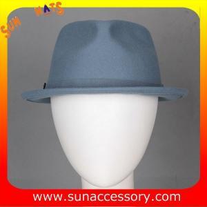 Best T9641161 Sun Accessory customized fashion  winner 100% wool felt  fedora hats, unisex hats and caps wholesaling wholesale