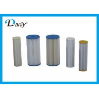 China Economical Pleated Filter Cartridge Fewer Change Out And Less Maintenance wholesale