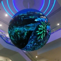 China Customized 360 Degree Globe Ball Sphere Led Screen on sale