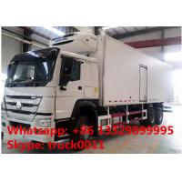 Best 2019s SINO TRUK HOWO 25tons refrigerated truck with THERMO King refeer for sale, best price HOWO 336hp cold room truck wholesale