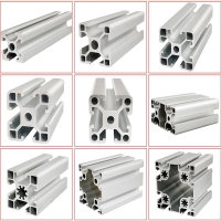 Best Heavy Weight Bearing 45mm Square Exhibition Display Aluminum Profiles wholesale