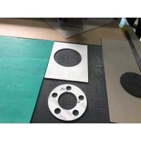 Best Non Metallic asbestos Insulation Graphite Flange Seal Gasket Sheet Board Cutting Machine wholesale