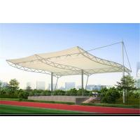 Buy cheap High Strength Tensile Structure Architecture , Fabric Shade Structures Windproof product