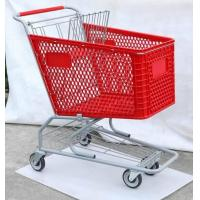 Best Plastic Trolley, American Type Shopping Cart, Supermarket Trolley ,Shopping Trolley ,Hand Trolley wholesale