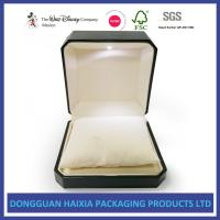 Best LED Light Jewelry Gift Boxes , Luxury Engagement Ring Box Screen Printing wholesale