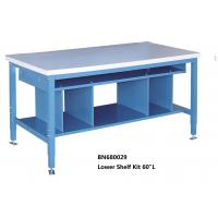 Buy cheap Multi Purpose Industrial Work Benches Lower Shelf Kit For Divider Space 60 Inch from wholesalers