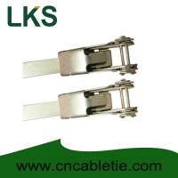 China LKS-900mm Universal Stainless Steel Clamping Ties on sale