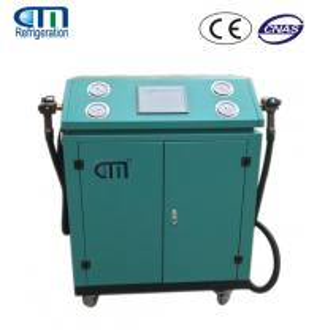 Dual System Refrigerant Recycling Machine , R134A R22 R410A Refrigerant Recovery Equipment