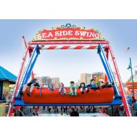 Best Double Sided Pirate Ship Amusement Ride With Dynamic Music And Gorgeous Lights wholesale