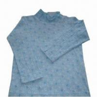 China Comfortable Children's Clothing, Made of 65% Polyester and 35% Crinkle Cotton on sale