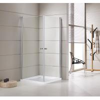 Best Small Bathrooms Square Shower Stalls / Shower Cubicle 5mm Thickness Doors wholesale