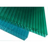 China Colored Polycarbonate Honeycomb Sheet , 10mm Clear Polycarbonate Sheet Sun Panel For Wall on sale