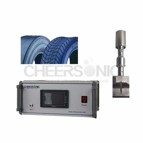 Cheap 20 Khz Ultrasonic Tire Cutting Machine With High Precision Cutting for sale