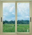 Best 1.0mm - 1.2mm profile thickness electrostatic powder coated aluminum sliding glass doors wholesale