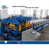 8.5 Kw Step Tiles Aluminium Roofing Sheet Making Machine For Corrugated Roof Panels