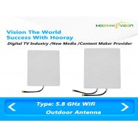 Buy cheap Outdoor high gain 23dbi patch wifi 5.8 Ghz  Digital TV Antenna  for Signal Amplifier product